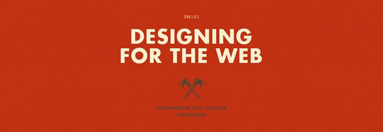 The online resource for designers Web Design Field Manual has just been updated for 2014