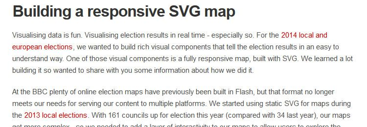 Building a Responsive SVG Map