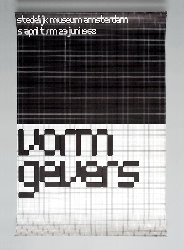 Vormgevers poster