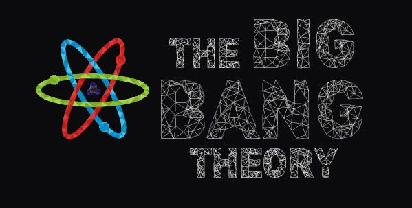 spalsh screen big bang theory geometric illustration