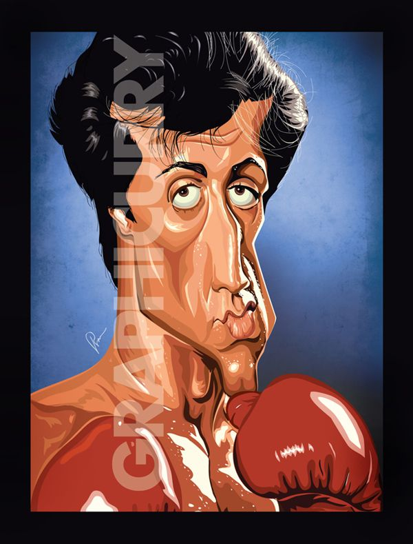 Rocky Balboa tv movie  cartoon satrical humor