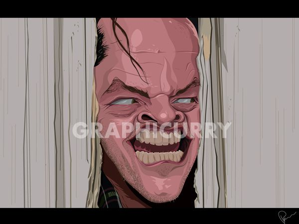 The Shining tv movie  cartoon satrical humor