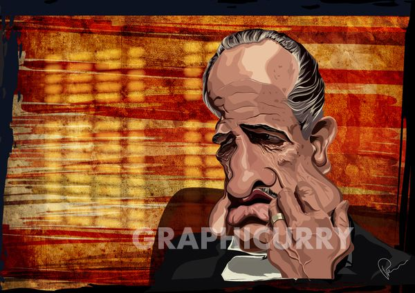 The Godfather tv movie  cartoon satrical humor