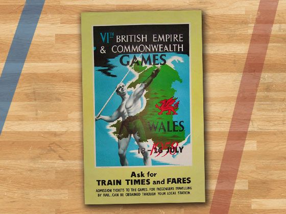 design evolution The Red Dragon, the iconic symbol of Wales, makes an appearance on the 1958 poster
