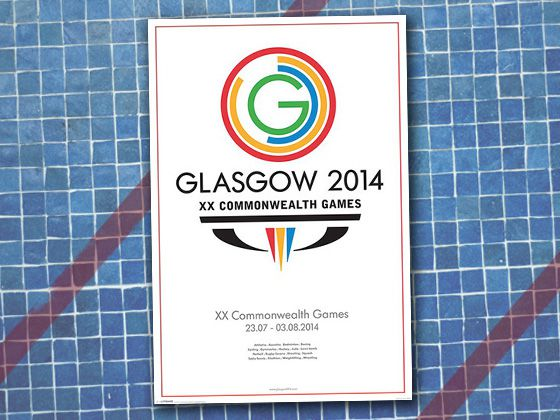 design evolution The official poster for the 2014 Commonwealth Games combined simplistic design with more information as displayed on posters from the 1970s