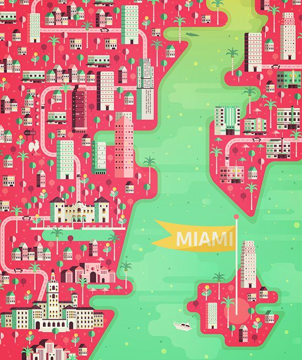 Tokyo Aldo Crusher illustration metropolis geometry