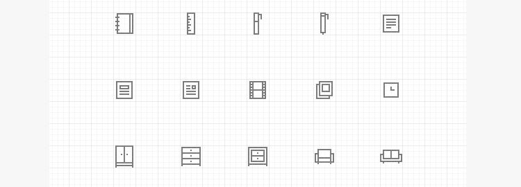 Pixelvicon -A free all-purpose line icon-set