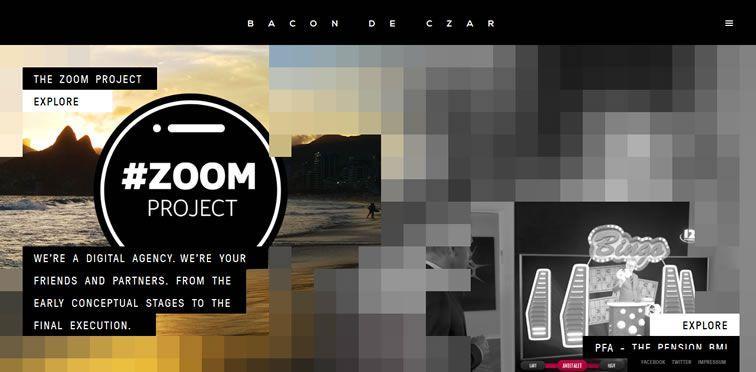 Bacon de Czar flat-style modern inspire web