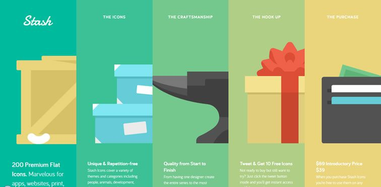 50 perfect examples of flat web design for inspiration rh speckyboy com