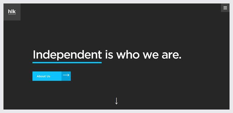 flat-style modern inspire web