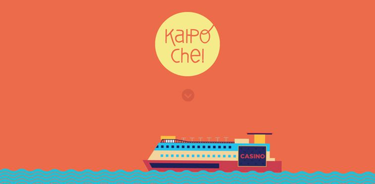 Kaipoche flat responsive design site