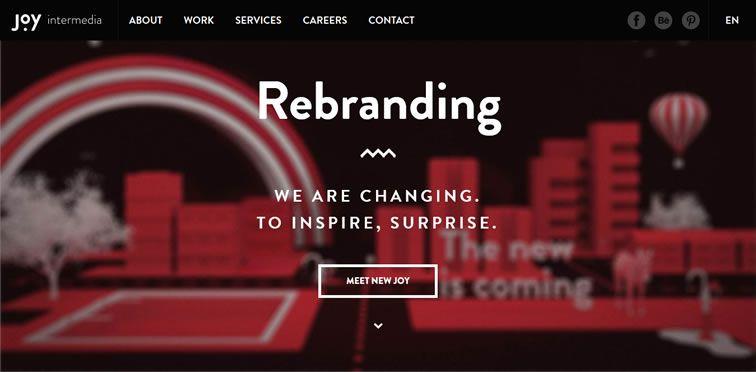 Joy Intermedia flat-style modern inspire web