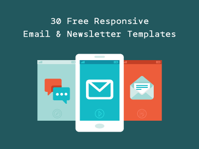 30 free responsive email and newsletter templates - Free Mailchimp Templates