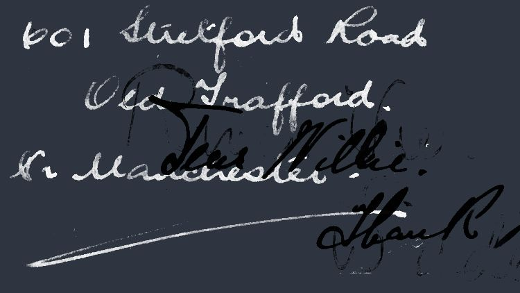 Vintage Handwriting Photoshop Brushes