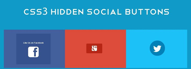 CSS3 transforms to build social link buttons css css3 tutorials techniques