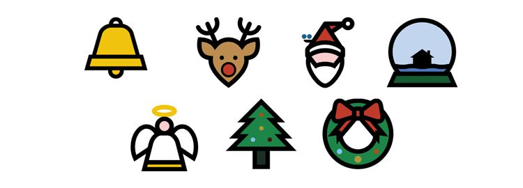 animate festive SVG icons css css3 tutorials techniques