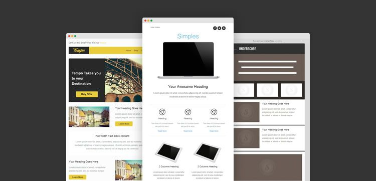 Free Responsive Email And Newsletter Templates