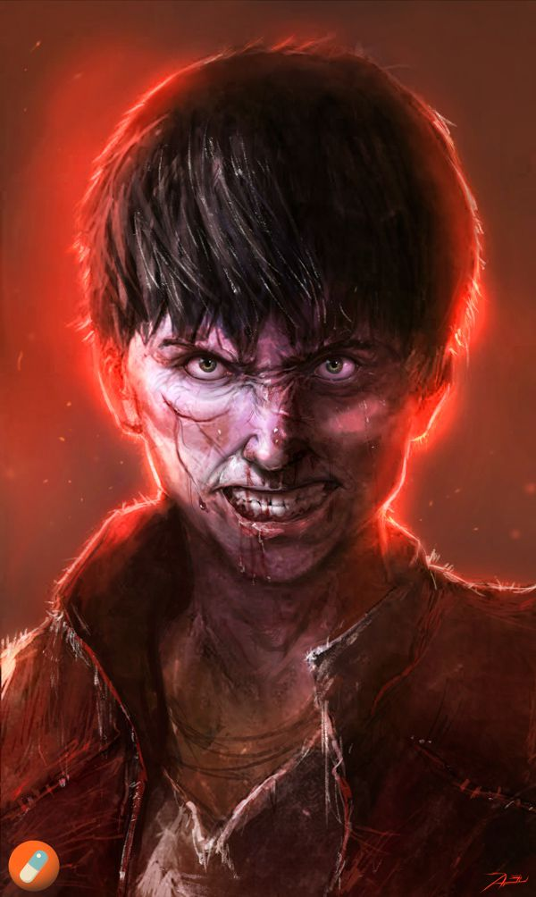 haunting concept digital paintings Comicbook & Movie Charaters
