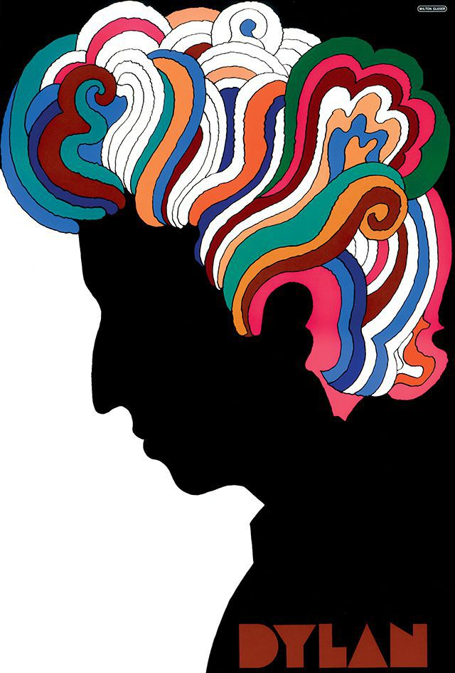 Bob Dylan poster, 1966