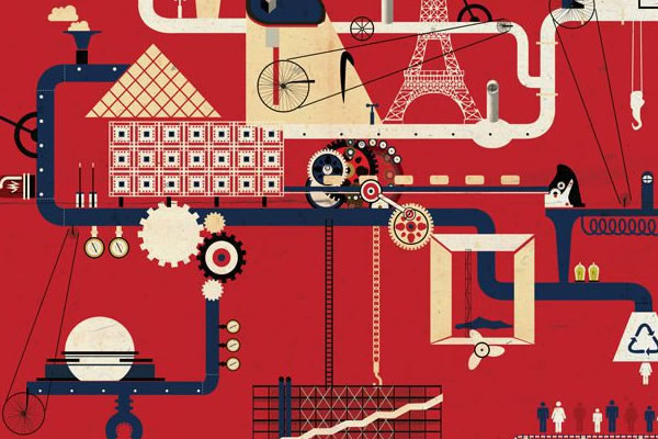 Illustrated Series of Architectural Machines