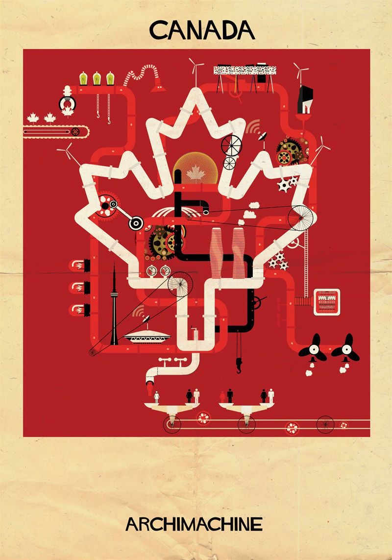machine illustrations Canada