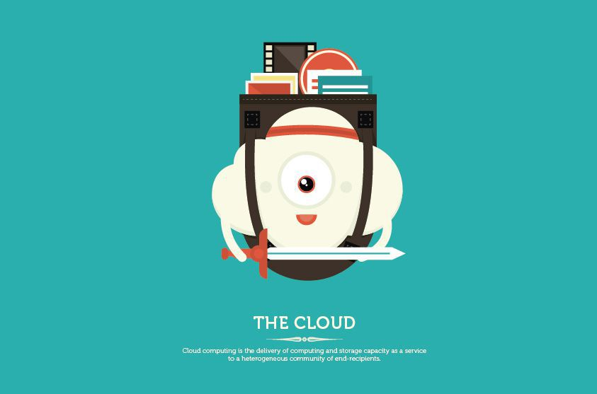 the cloud Buzzword internet