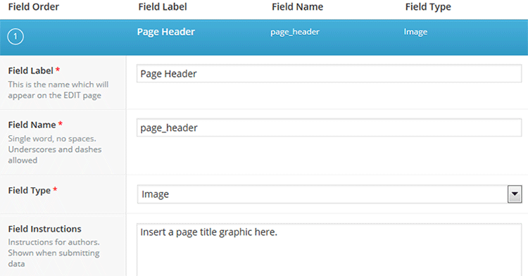 Within Advanced WordPress Custom Fields settings