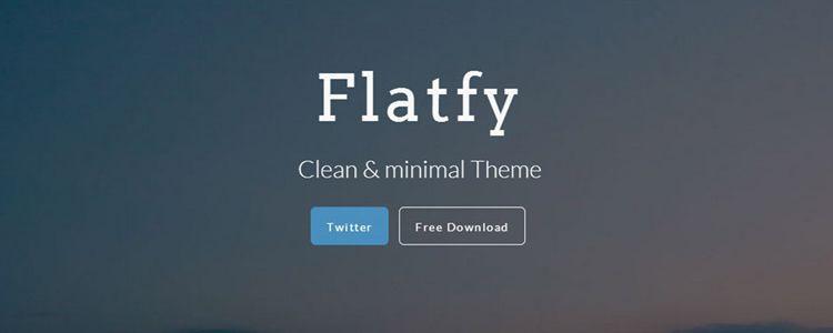 Flatfy Web Template html