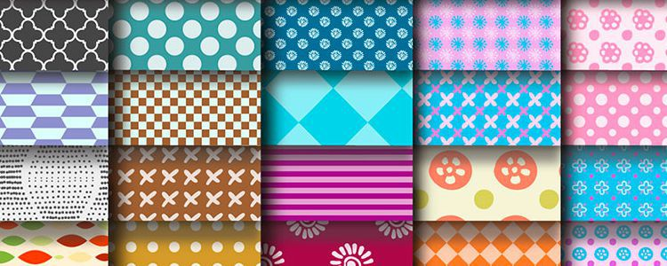 100 Repeating Vector Patterns