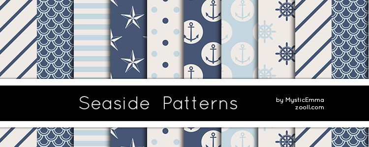 8 Seaside Patterns