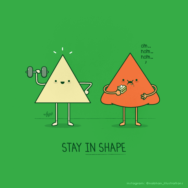 smart art series Stay in Shape