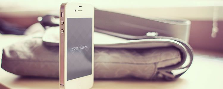 iPhone 5 Photo-Realistic Mockups PSD
