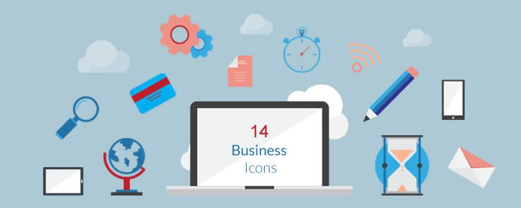 Flat Business Vector Icons