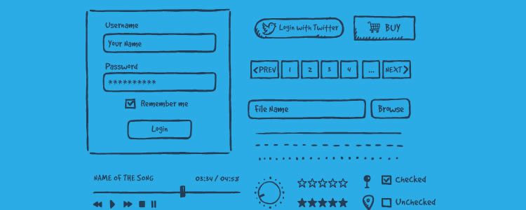 Jolly Hand-Drawn UI Kit