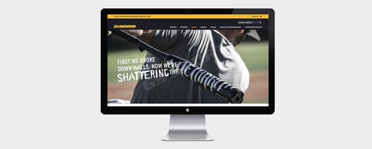 Demarini Sports Template PSD