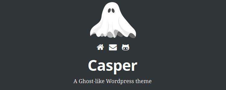 Casper Theme WordPress