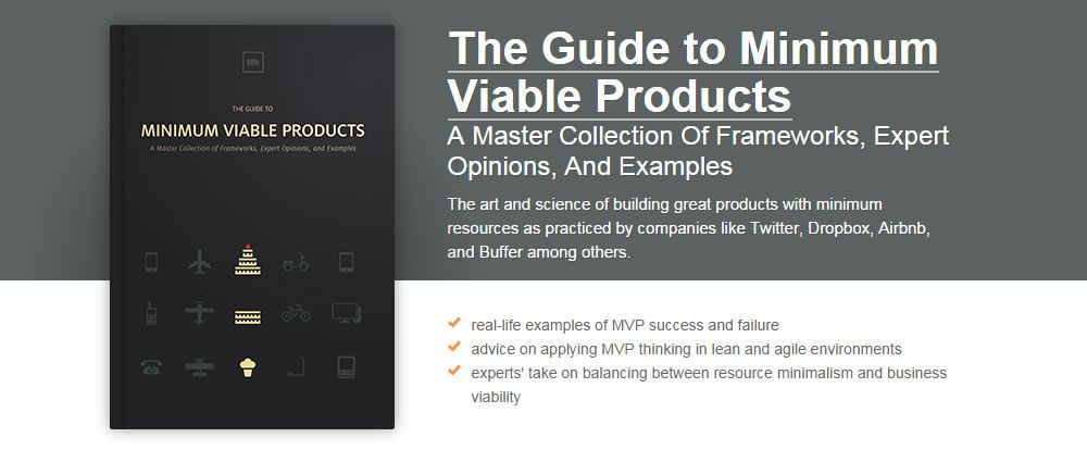 Free Ebook The Guide to Minimum Viable Products