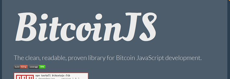 BitcoinJS - A pure JavaScript Bitcoin library for node.js and browsers