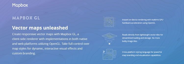 Mapbox GL - A JavaScript library for WebGL-based client-side vector maps