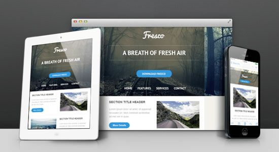 Five Responsive HTML Email Templates