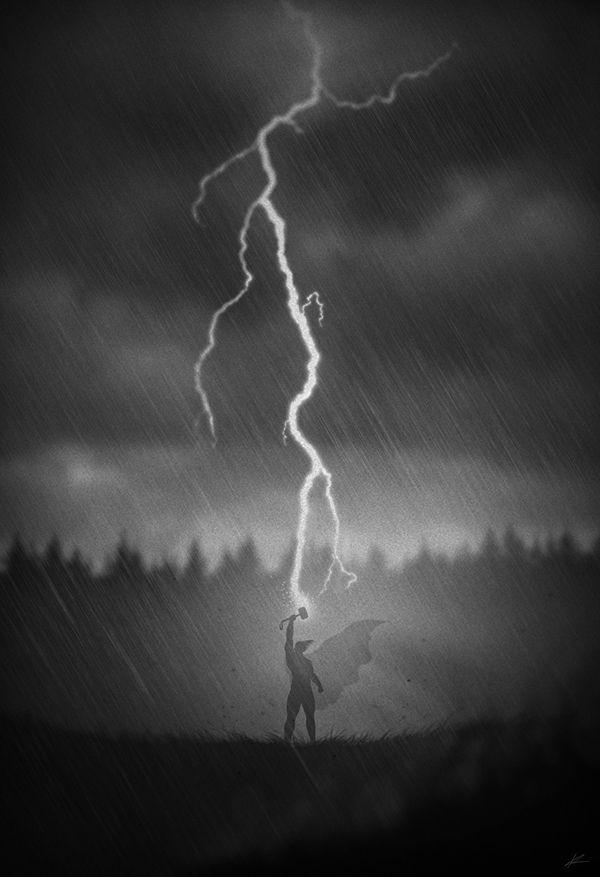 concept art by Marko Manev Thor