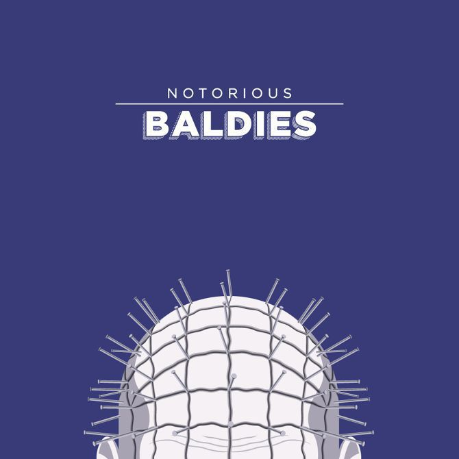 bald illustration culture famous movie