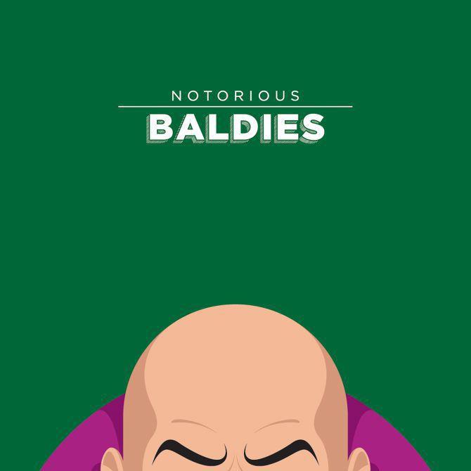 bald illustration culture famous movie