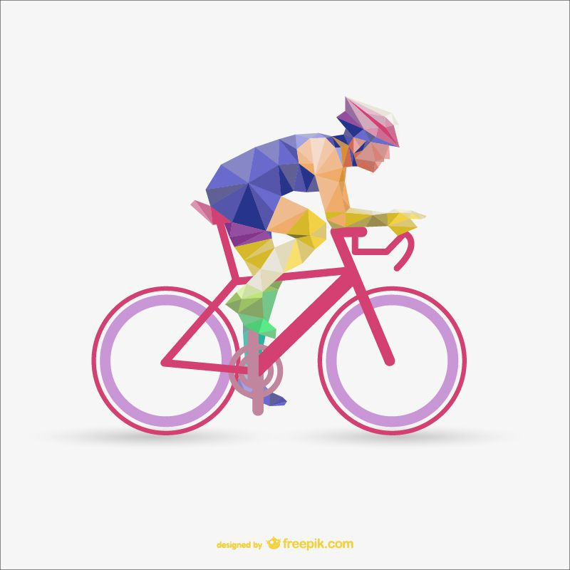 cycling poly sports freebie template