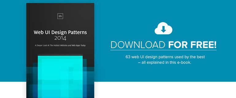 Free Ebook: Web UI Design Patterns 2014
