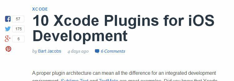 10 Xcode Plugins for iOS Development