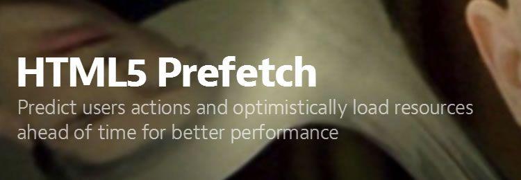 HTML5 Prefetch