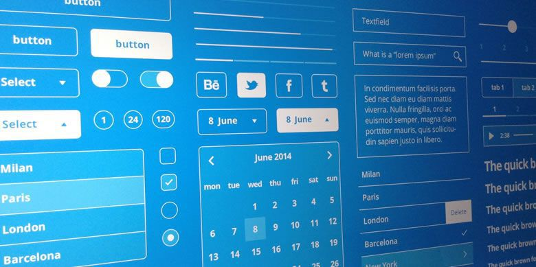 Freebie: Mobile UI Blueprint