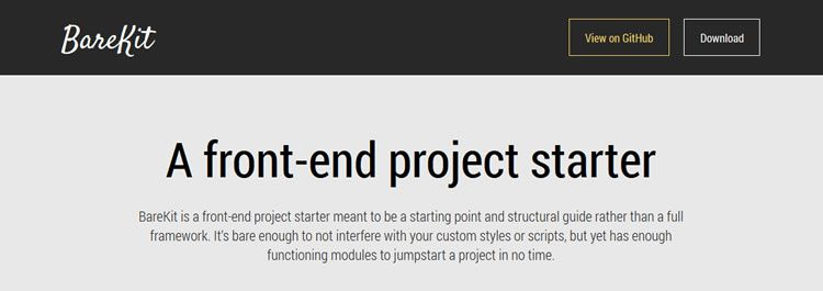 BareKit, a bare minimum responsive framework