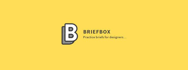 Briefbox,me homepage  fun design briefs for designers to get creative with